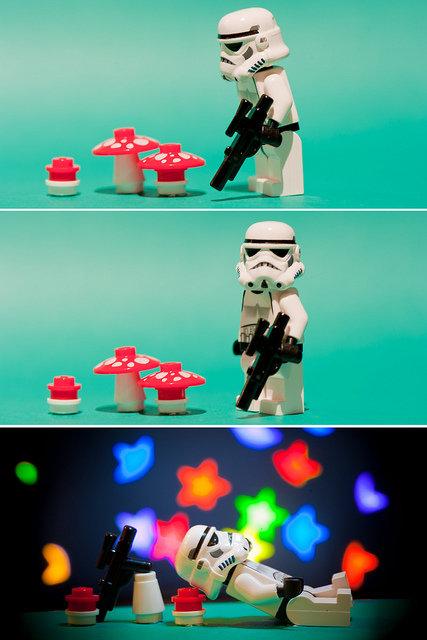 tripping stormstrooper. hehe.. lol