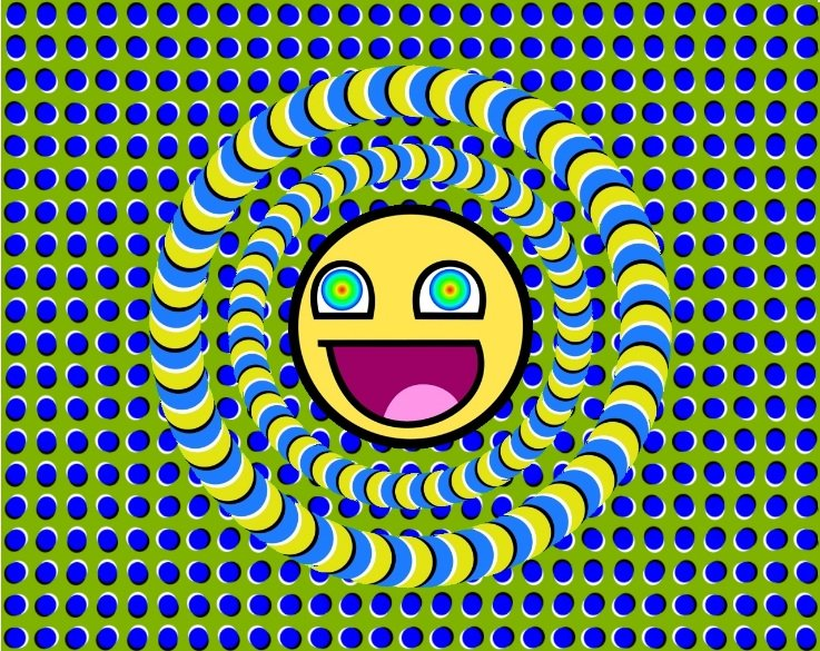 Trippy. Lol i thought this was a GIF at first but its not.. yo dawg we heard u like feeling high so we sent this pick to u to look at when ur high, so u can be high wile u are high