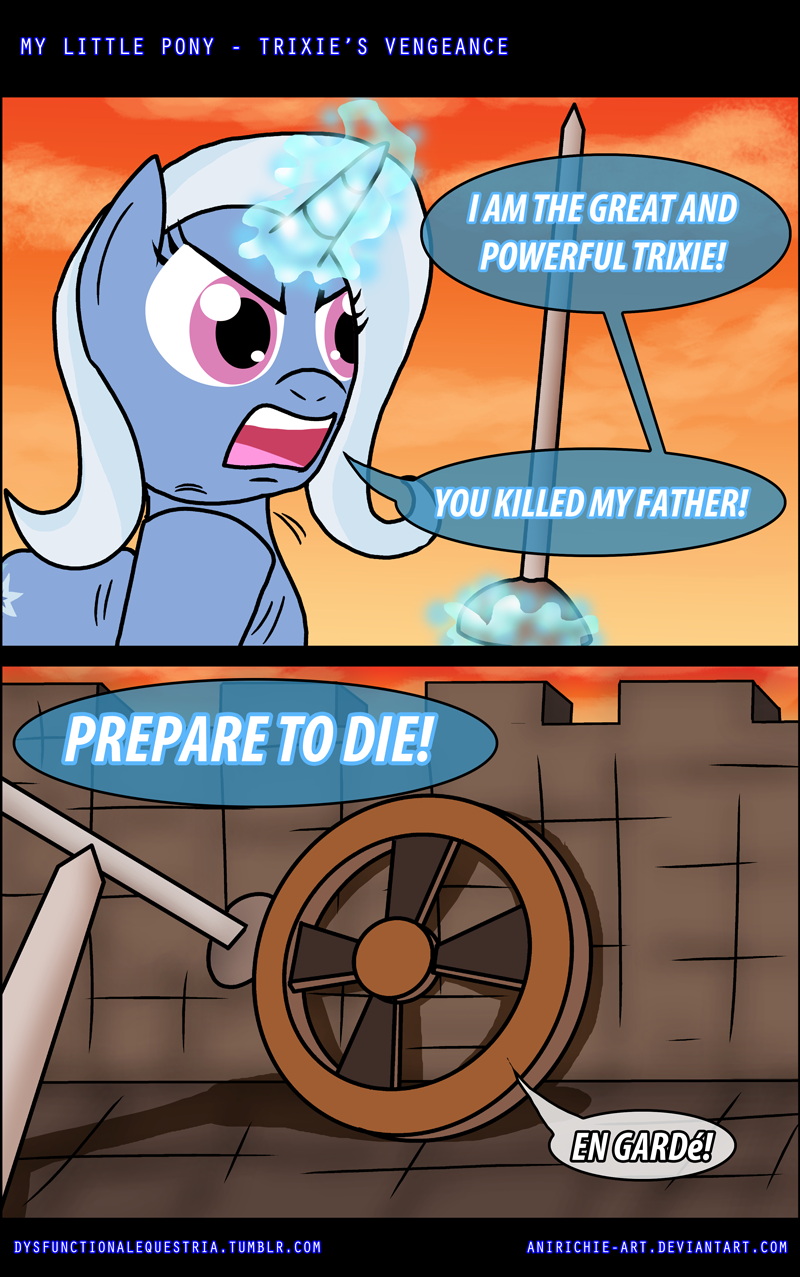 Trixie's Vegeance. . LITTLE PONY - TRIXIE' S VENGEANCE littal) GA ! Cch