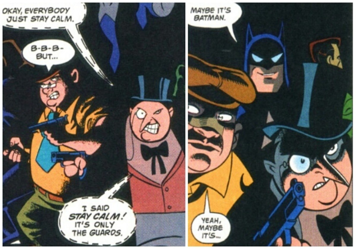 Troll Batman. .. I can't unsee Peter Griffin on the left
