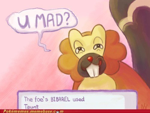 Troll Bibarel. . The fogs used ' Taart. ewwww, why would you even use that pokemon