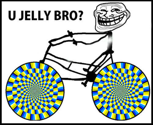 Troll bike. Thumb up and subscribe for more if you stared for more then 10 seconds thumb up.