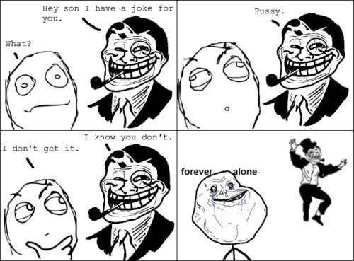 troll dad. first 20 comments get free thumb add me as a friend and subscribe. Rey sun I have a joke for I know you dan t. T don' t get it, k. You must thumb this comment but if you do then it will prove you're a fag??