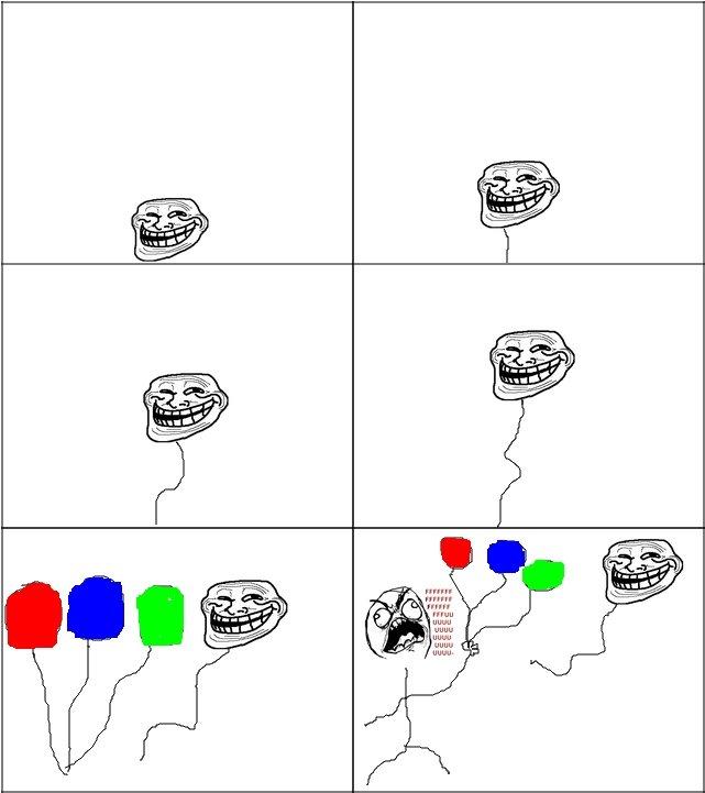 Troll Balloon. . UGUU UGUU UGUU. fffuuuu