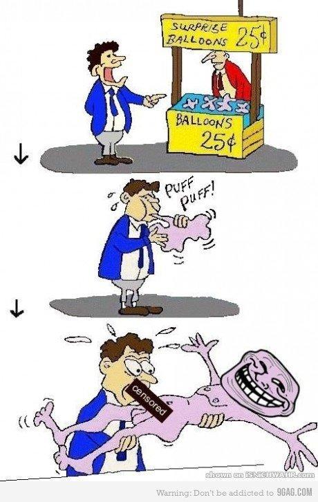 Troll baloons. .