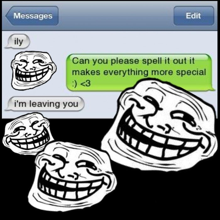 Troll. . lall Messages