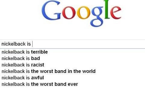 Tru story.. . is l is terrible is bad is racist is the worst band in the world is awful is the worst band ever. lol,he failed really BADLY
