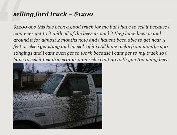 truck off. .. Call a exterminator.