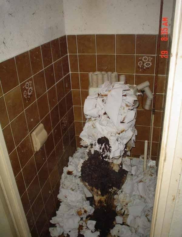 Truck stop bathroom. .. Seemed appropriate.