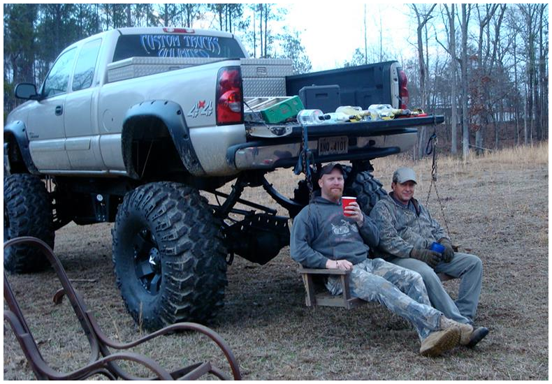 Truck Swing. .. Ew its a chevy