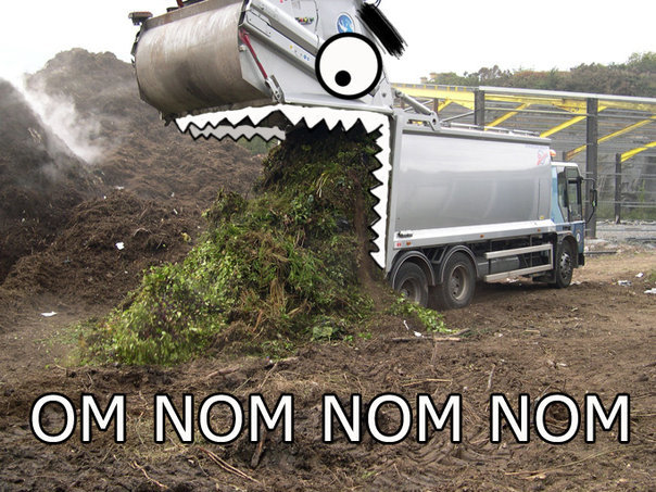 Truck Om Nomnom. .. That is the funniest damn thing I have seen today!!