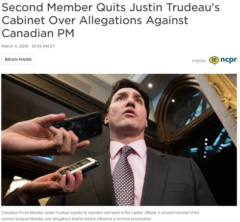 Trudeau Scandal Worsens. Since taking office in 2015, Canadian Prime Minister Justin Trudeau has become a progressive icon, due to his Liberal Party's championi
