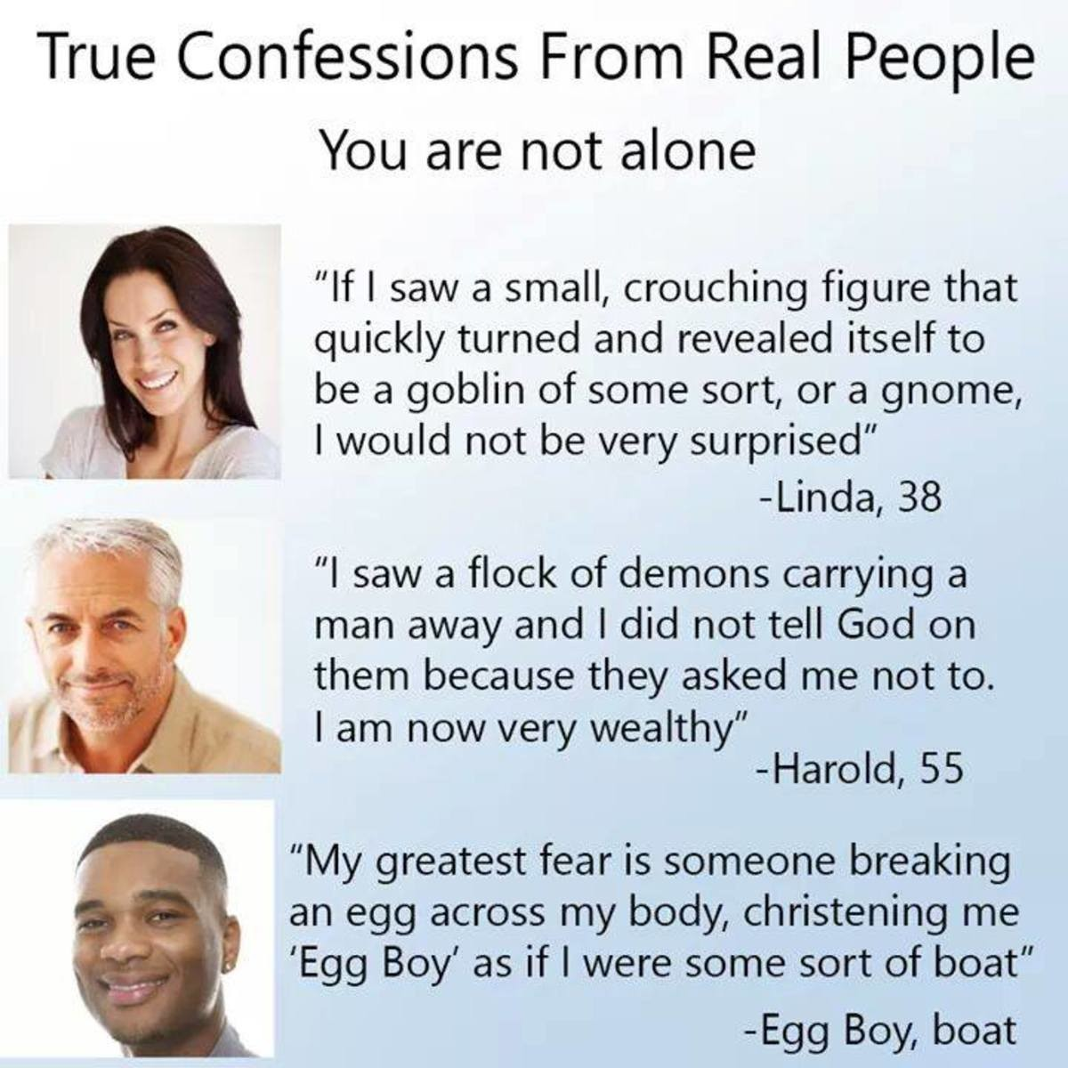 True confessions. .. Comment edited at .