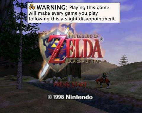 True Facts. . WARNING: Playing this game will make every game you may I. following , a slight disappointment. if 1998. I never liked Zelda