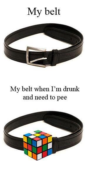True. five words minimum required ok. My belt when I' m drunk and need to pee. repost