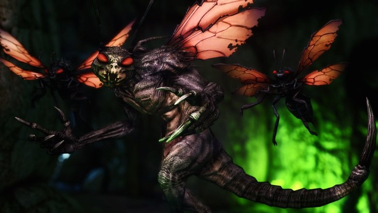 True htmare. You guys just had to keep bringing it up. You had to keep joking about how cool it would be if a death claw was combined with a cazador. Well some