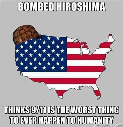 true. i lol'ed.. You try to rustle American jimmies because this is offensive to them. Yet you managed to rustle my glorious jimmies because this is a blatant, shameless, overre