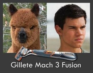 True Identity. I need that razor. Thanks for the views, sorry if you didn't laugh. Gillete Mach 3 Fusion