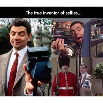 true inventor of selfies. . The we inventor of selfies,