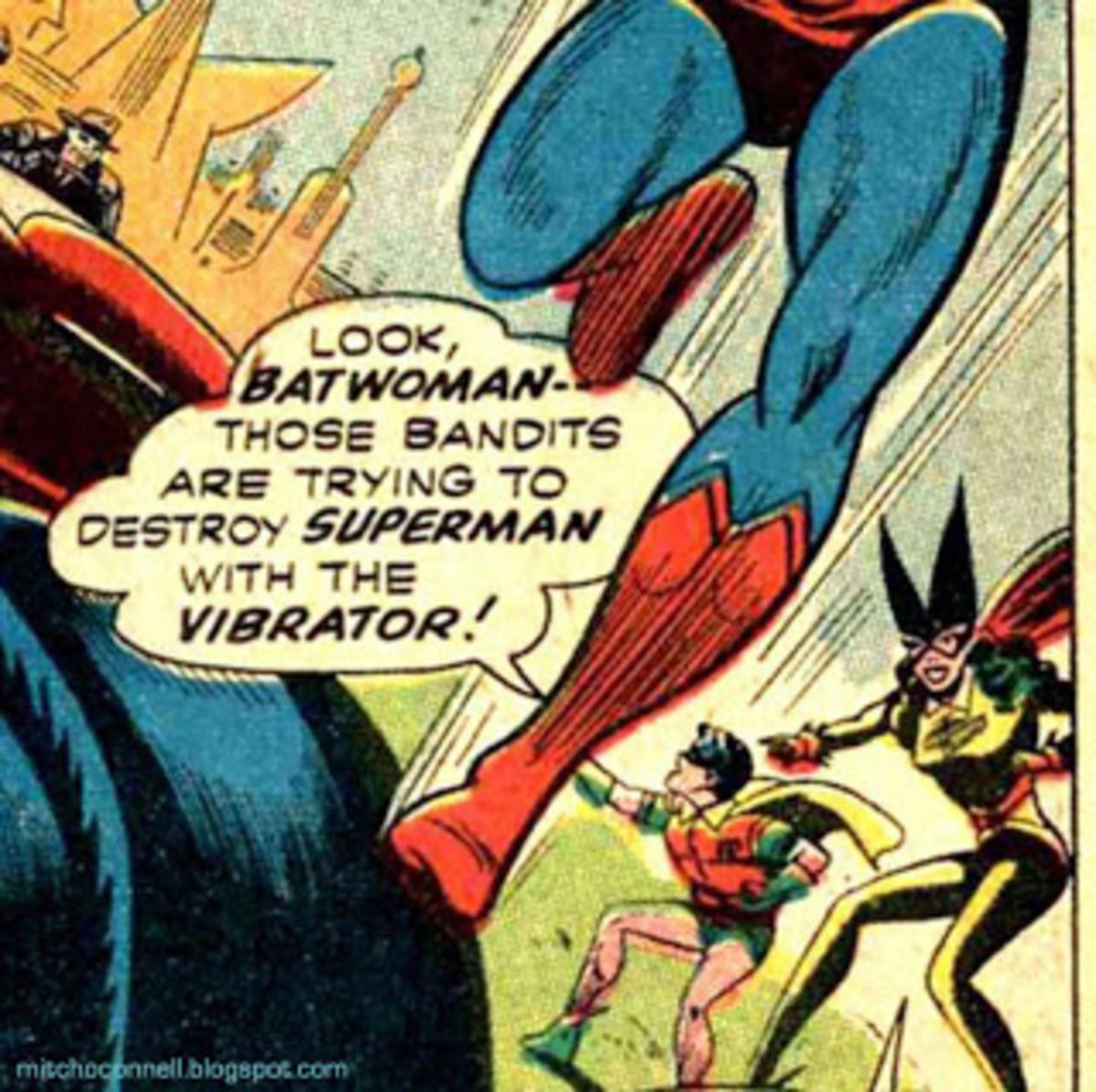 True Kryptonite. .. The Time Vibrator?!