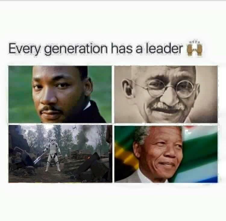 True leader. . it _' has ) leader aiit. yeah but 3 of them are black guys and the 4th one laid the smackdown on a black guy