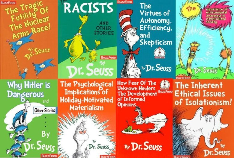 """True meaning behind dr seus (see desc). . A Ili, Skepticism l Dan yous """" of? The """""""""""""""" Ethical Issues Ili and a':, ', fl',' area of' isolationism!. what are the real names of these books, i recognize the lorax, the grinch, green eggs and ham, and horton hears a who."""