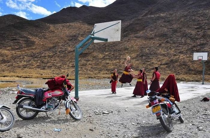 True monks of Tibet. .. i should show up one day and start playing, see what happens.