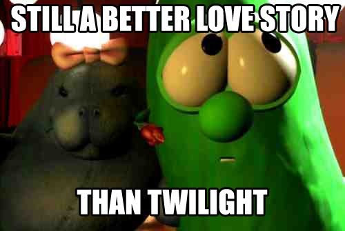 """True. Not really """"funny"""" per say, but is still pretty true. Besides, Veggietales was the when I was a kid, even though my religious views have changed"""