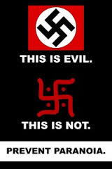 True swastika meaning. This is the true meanign of the swastika it is an good luck, love, peace, life, god symbol. THIS IS EVIL. THIS IS NOT.. You got it switched