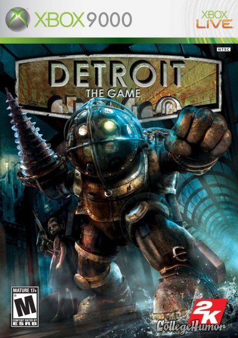 True Detroit: The Game. College Humor's Property.. how did i not realize this sooner?