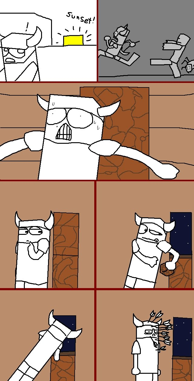 True Minecraft comic. every time...EVERY TIME!!.. sssssssssssssssssssssssssssssssss