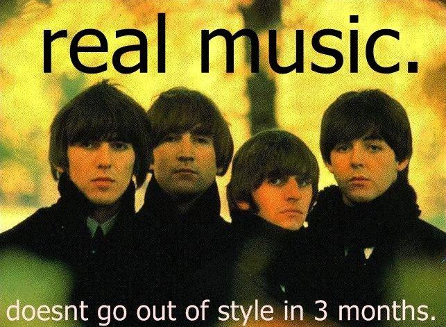 True no?. repost..... I love the Beatles.