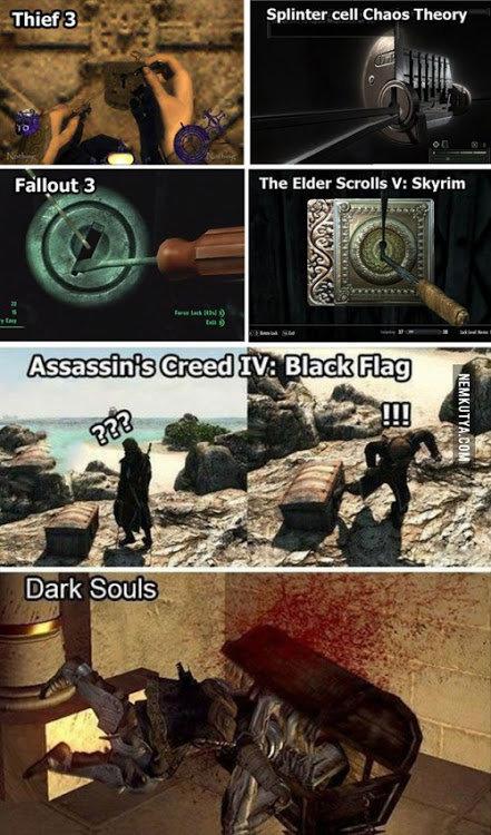 true. . Thief 3. _ Splinter cell Chaos Theory nna' mna.. Oblivon master race
