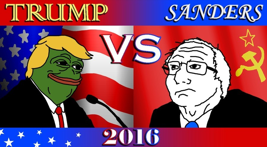 Trump VS Bernie comp. Havent done Trump a lot lately, Havent done Hernie a lot lately. Lets do a side by side comparison in this comp. For more content about Em
