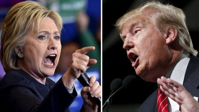 Trump vs Clinton. . . . . . . . . . . . . . . . . . . . . . . . . . . . . . . . . . . . . . . . Needed a break from all the politics around here... Aw yiss