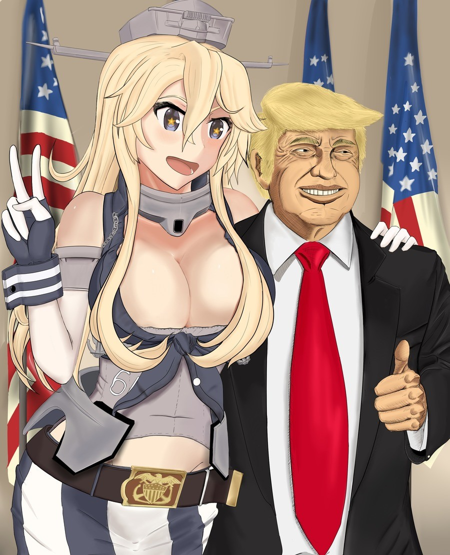 Trump will make Kancolle great again. illust.php?mode=medium&illustid=60349510 join list: Kancolle (264 subs)Mention Clicks: 11641Msgs Sent: 45266Mention Hi
