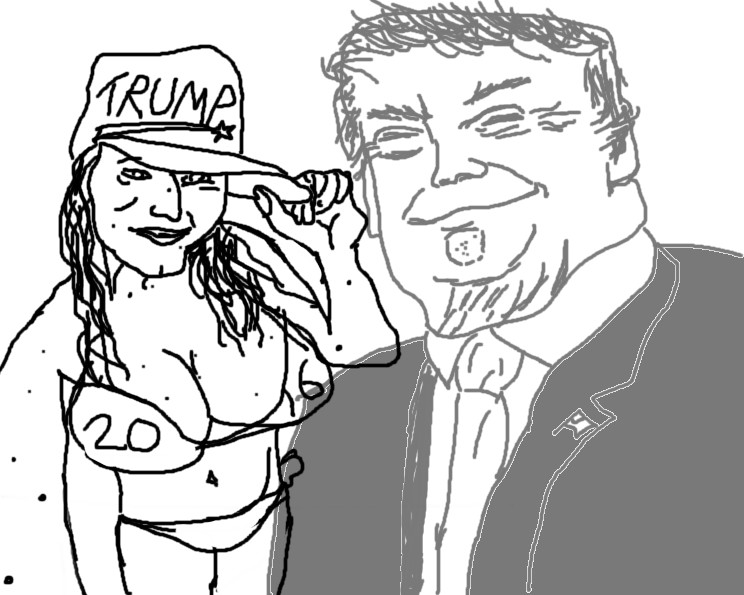 TRUMPER COMP 1000(OC). .. Finally somebody parodied it. I hate Hillary as much as the next guy, but those Trump comps might as well have been cringe comps.