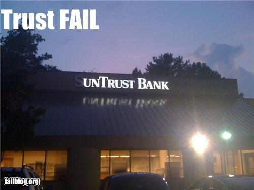 trust fail. .