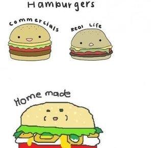 truth about a burger. . H am Mrs