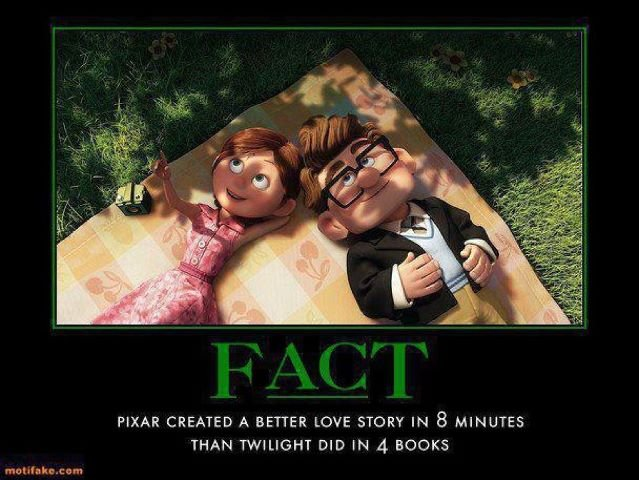 Truth. . CREATED A BETTER UCP/ E STORY IN 8 MINUTES THAN TWILIGHT DIDIN 4 BUSES. Fact, this is a retoast