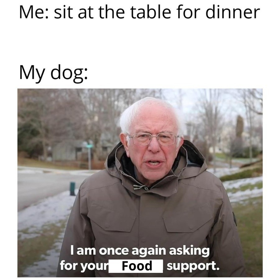 truuu 😂😂😂. .. food support