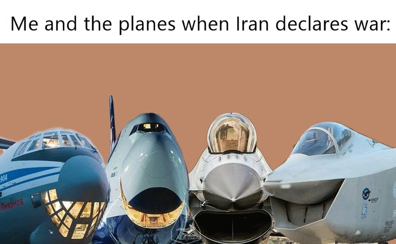 truuu 😂😂😂. .. Should an IL-76 be in this though? Would Russia do anything?