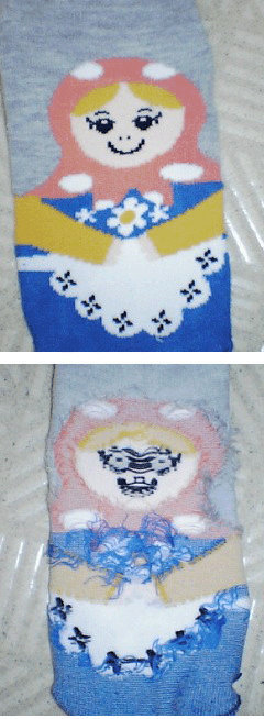 Try it. ever turn a sock inside out?.. Reminds me of the Yeti boss from the Legend of Zelda: Twilight Princess.