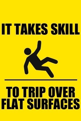 """try it. . IT TAKES """"Ill TO HIP WEI! FIAT (. I thought he was breakdancing."""