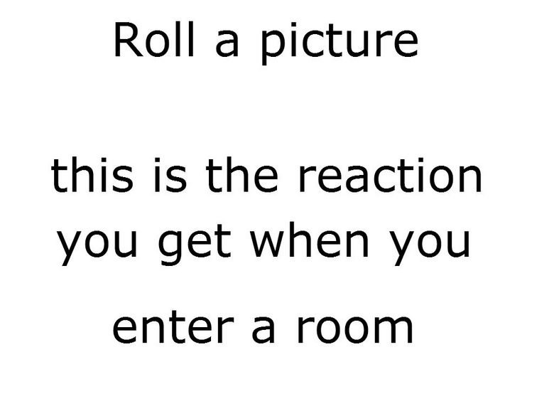 TRY IT. OC go on give it a go you never know what your gonna get. Roll iia i: :: yta,, artist this is; reaction. roll image