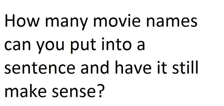 Try it. Example: The possibilities are Limitless for the Source Code that Your Highness Hanna can make.. How ' Ty movie narrows can you put into a sentence and