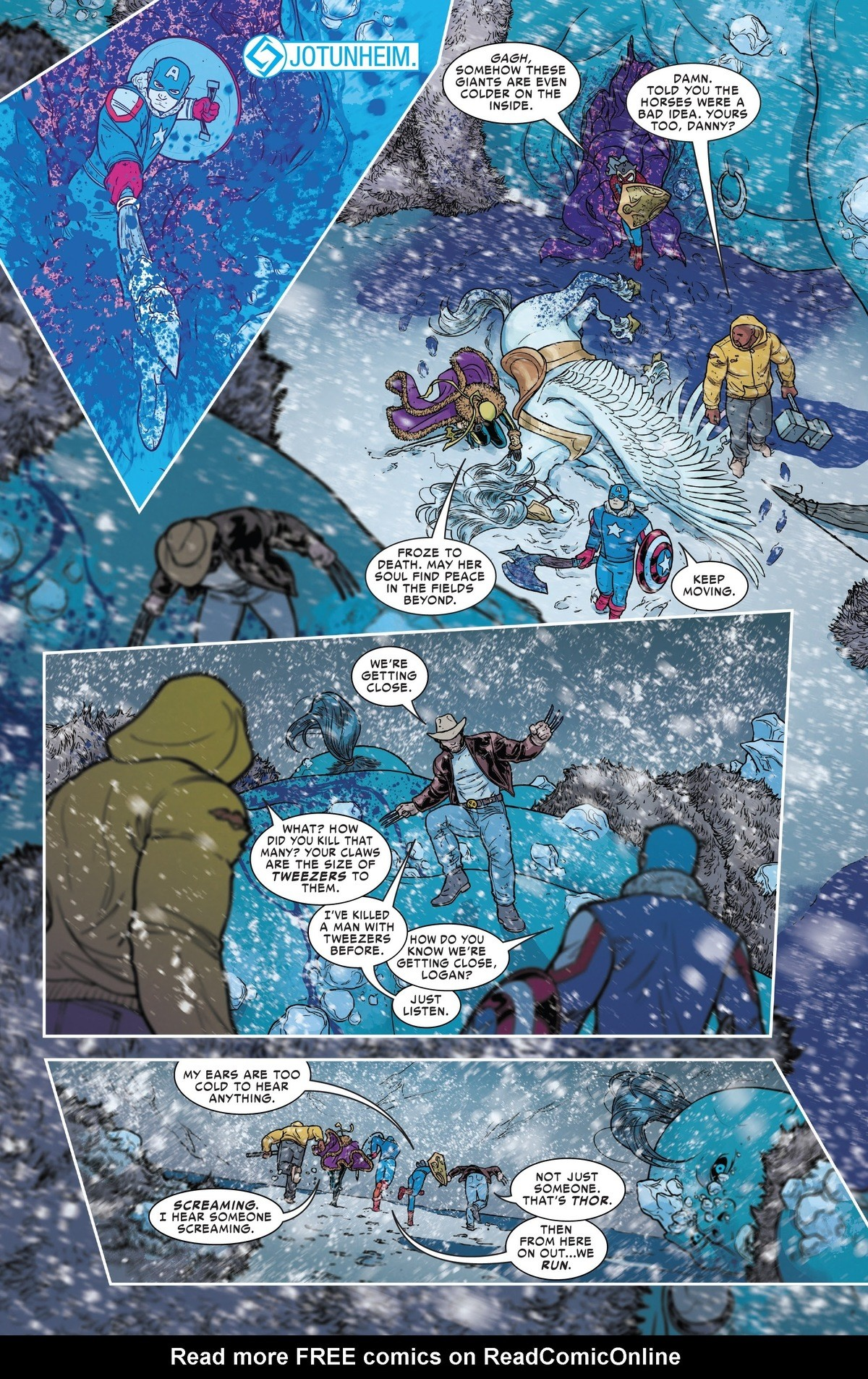 Tweezers. War of the realms #3.. I bet thor is screaming like a little girlComment edited at .