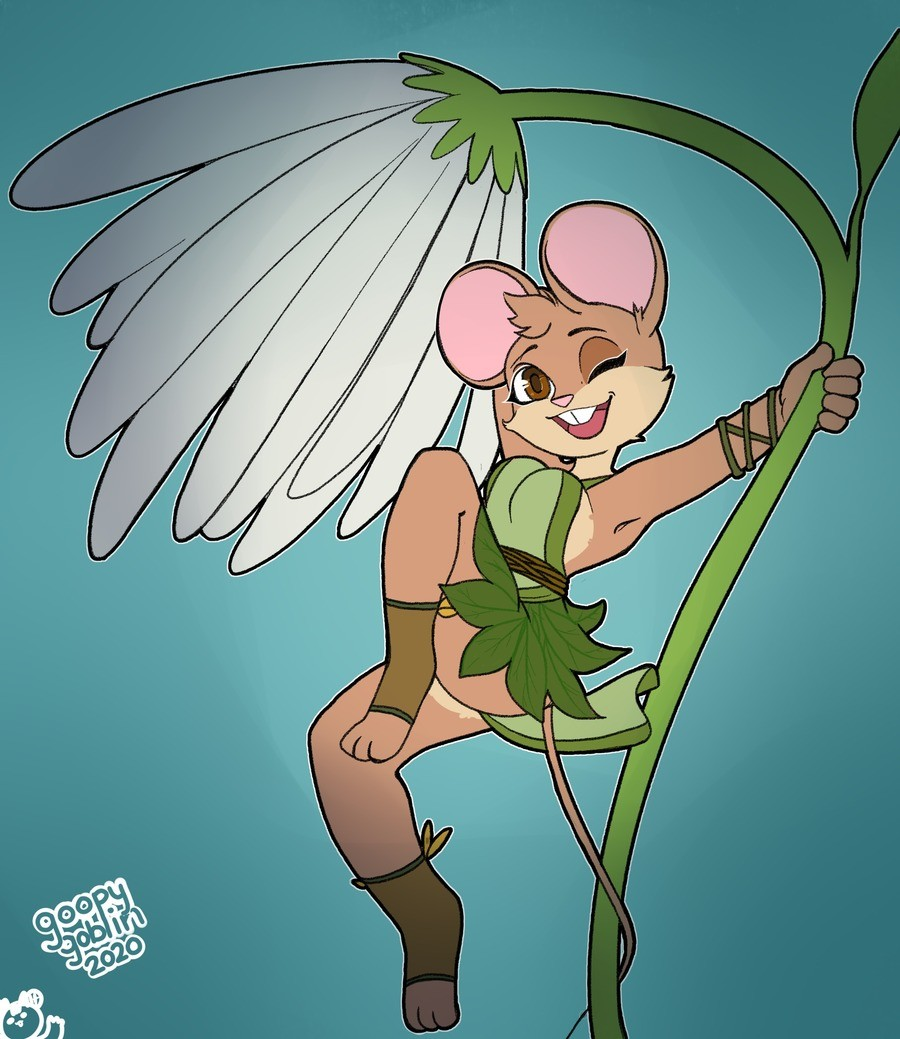Twig, the cutie patootie mousie druidy. Twig just being a cutie patootie and doing cute druid things. art by goopy goblin join list: eztarg3tcommissions (1799 s