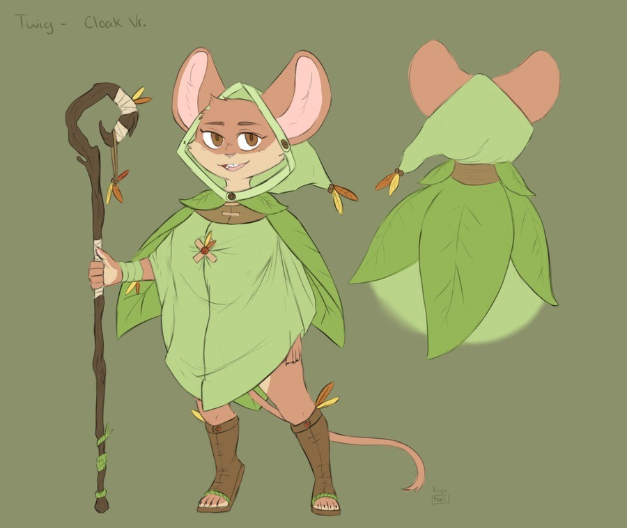 Twig the mouse druid. Another design of Twig, this time a bit more conservative. join list: eztarg3tcommissions (1802 subs)Mention Clicks: 120635Msgs Sent: 3019