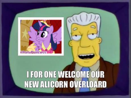 Twilacorn. I felt making this was necessary... did someone say twilight princess?